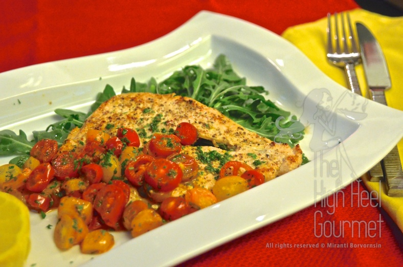 Chicken Milanese by The High Heel Gourmet 5