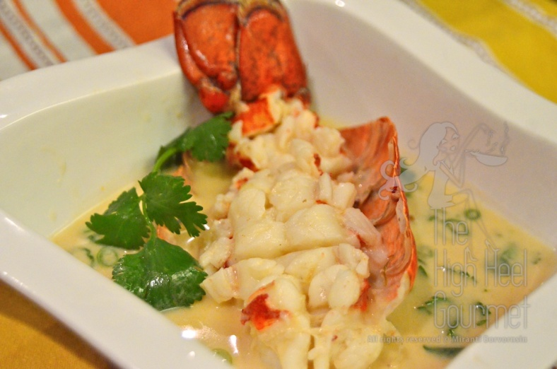 Galangal Soup with Lobster - Tom Kha Lobster by The High Heel Gourmet 2
