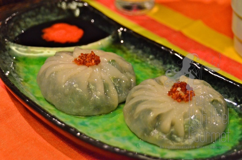 Garlic Chive Dumplings, Kanom Gu Chai by The High Heel Gourmet