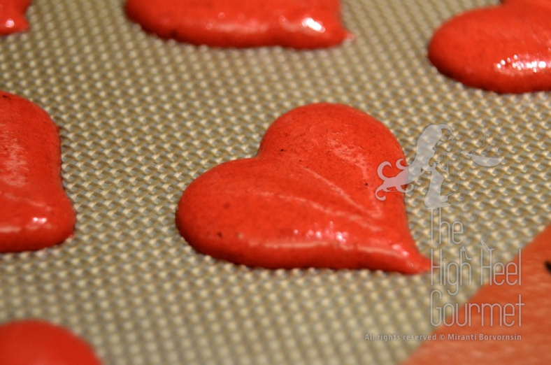 Heart Shape Macaron by The High Heel Gourmet 16