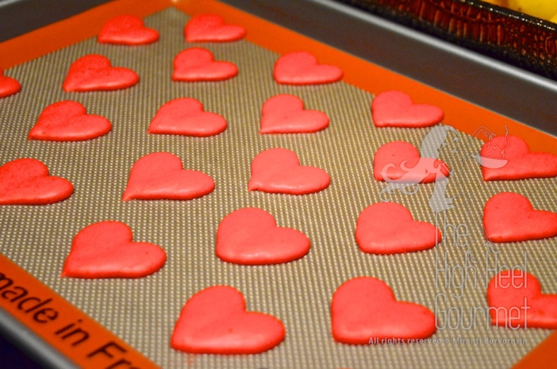 Heart Shape Macaron by The High Heel Gourmet 17