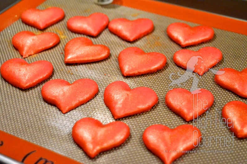 Heart Shape Macaron by The High Heel Gourmet 22