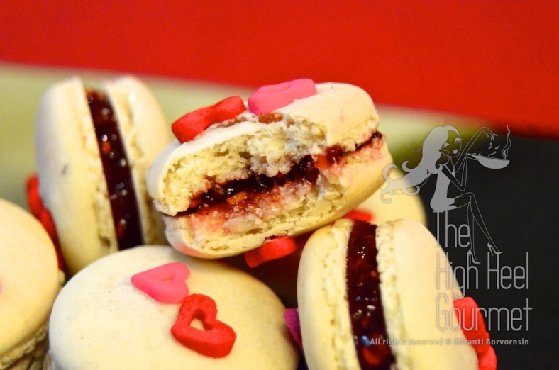 Heart Shape Macaron by The High Heel Gourmet 35