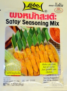 Rib Satay Thai style by High Heel Gourmet
