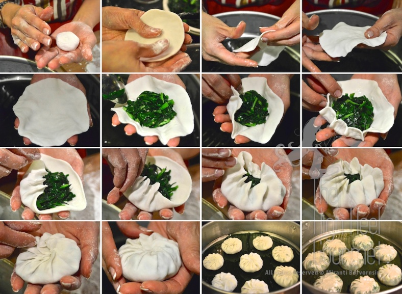 Steam Garlic Chive Dumplings, Kanom Gu Chai by The High Heel Gourmet 2