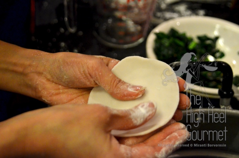 Steam Garlic Chive Dumplings, Kanom Gu Chai by The High Heel Gourmet 25