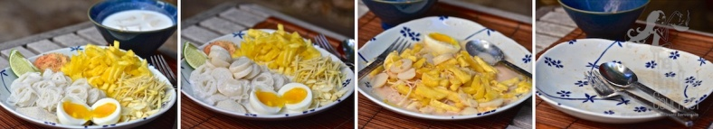 Noodles with Pineapple Coconut Milk and Fish Balls - Kanom Jeen Sao Nam by The High Heel Gourmet 6 (1)