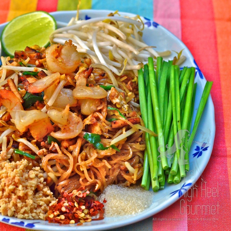 Authentic PadThai by the High Heel Gourmet 6