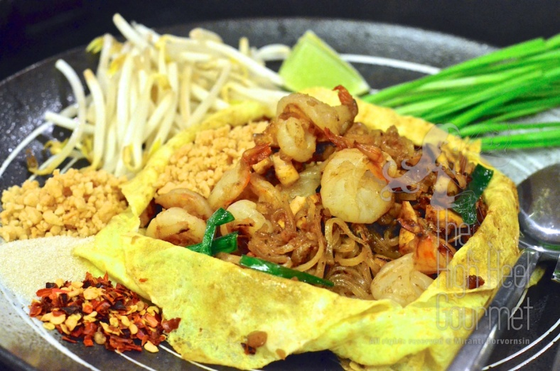 Pad Thai Wrapped with Egg Crepe by The High Heel Gourmet (1)