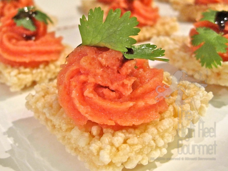 Spicy Tuna by The High Heel Gourmet