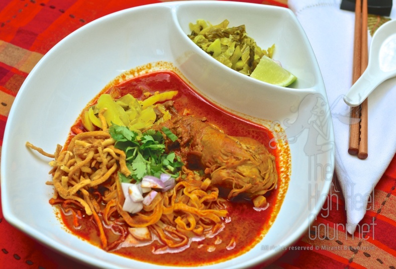 Northern Thai Curry Noodles - Khao Soi by The High Heel Gourmet 15