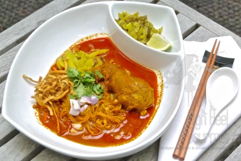 Northern Thai Curry Noodles - Khao Soi by The High Heel Gourmet 17