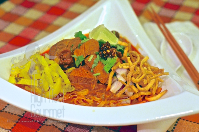 Northern Thai Curry Noodles - Khao Soi by The High Heel Gourmet (1)
