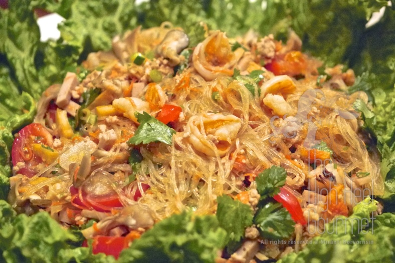 Thai Style Cellophane Noodles Salad - Yum Woon Sen by The High Heel Gourmet 7