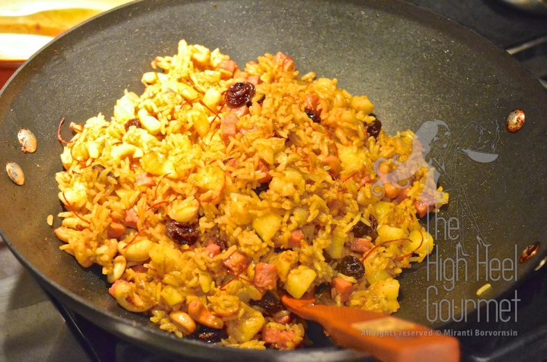 Pineapple Fried Rice - Khao Pad Sapparot by The High Heel Gourmet 6 (1)