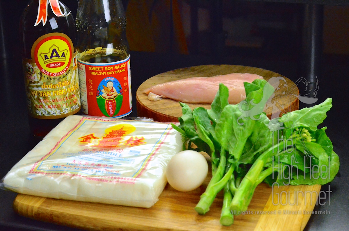 The simple and easy pad see ew thai stir fried rice noodles with easy authentic thai pad see ew 6 ccuart Choice Image