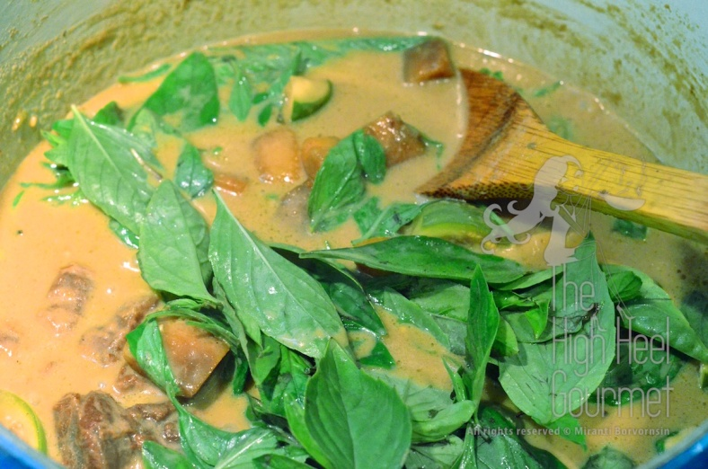 Thai Green Curry - Kaeng Khiao Wan by The High Heel Gourmet 25