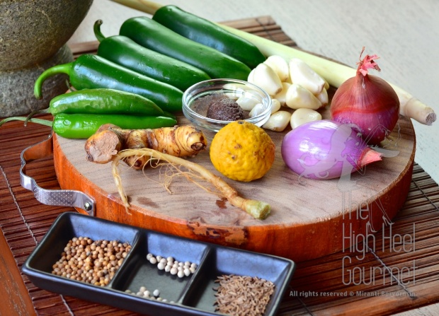 Thai Green Curry Paste by The High Heel Gourmet 26