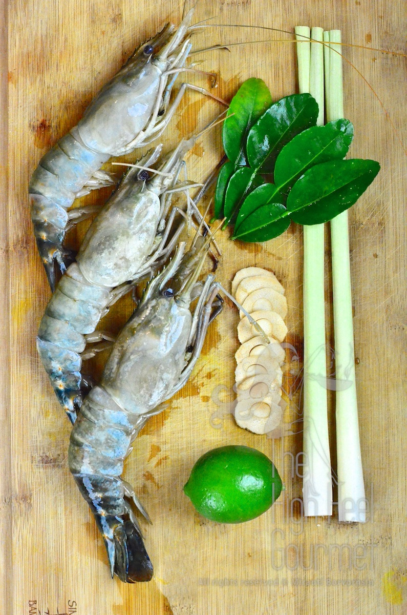 how to cook tom yum goong