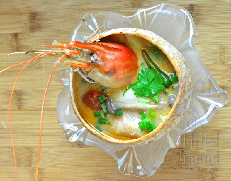Thai Tom Yum Goong - Hot and Sour, Spicy Prawn Soup (1)
