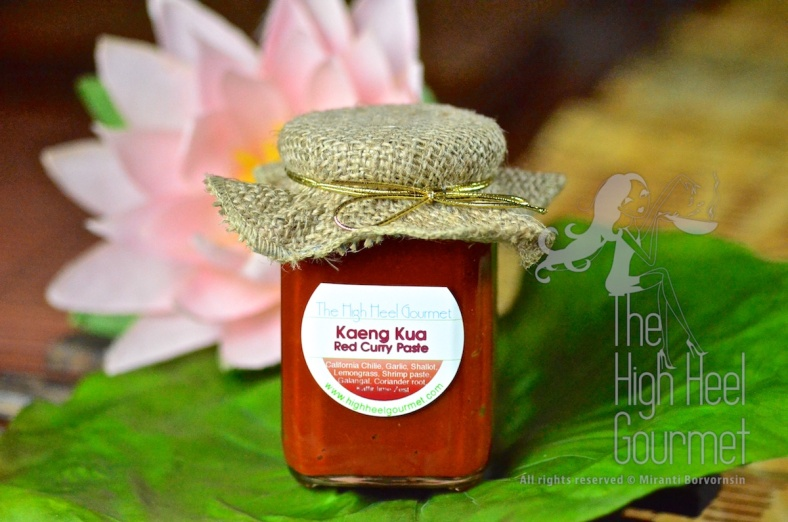 Basic Thai Red Curry Paste, Kaeng Kua by The High Heel Gourmet 9