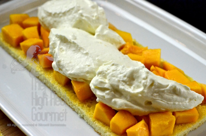 Cake in a jar - Mango Passion Fruit with Whipped Yogurt Frosting by The High Heel Gourmet 8
