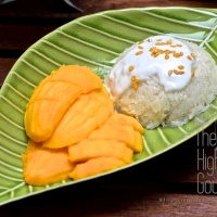 Authentic Sticky Rice with Mango, Khao Niaow Ma Muang
