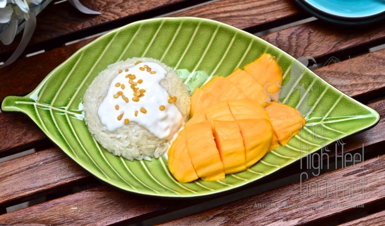 Thai Sticky and Mango - Khao Niaow Ma Muang by The High Heel Gourmet 4