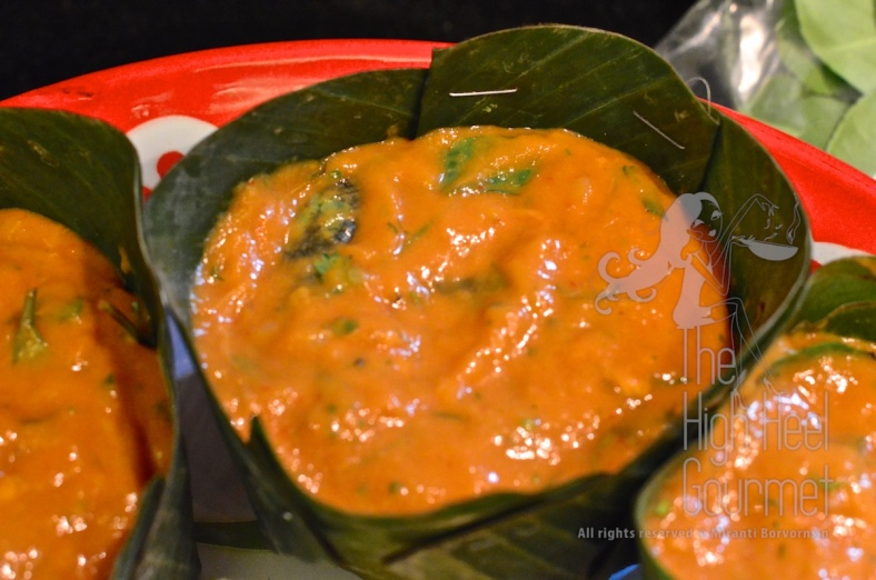 Thai Fish Mousse, Hor Mok Pla by The High Heel Gourmet 6