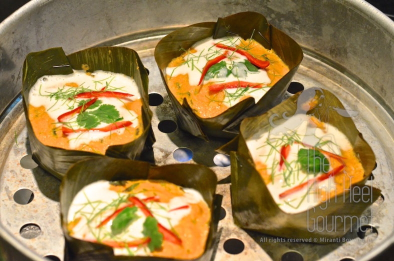 Thai Fish Mousse, Hor Mok Pla by The High Heel Gourmet 7