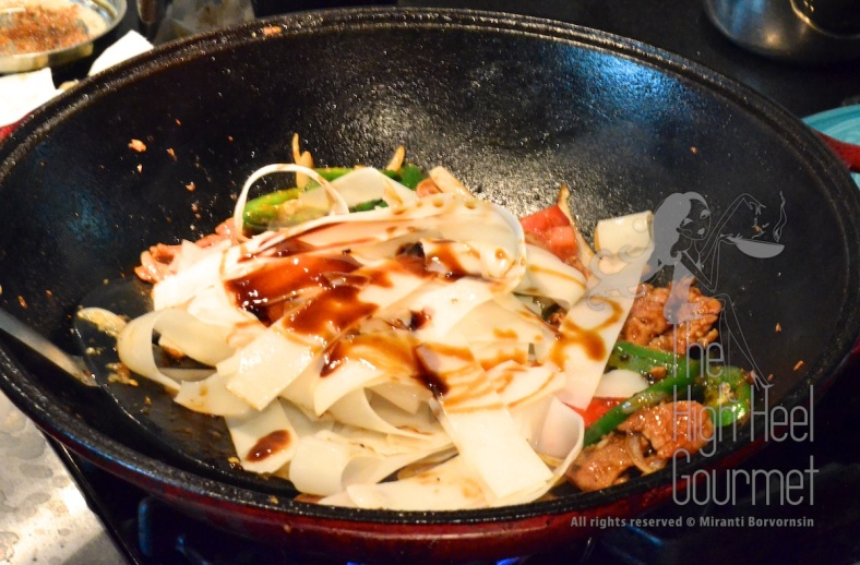 Authentic Thai Pad Kee Mao - spicy drunken noodles by the High Heel Gourmet  18