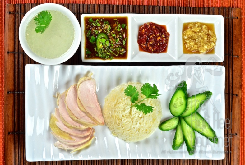 Thai Style Chicken and Rice, Khao Man Gai by The High Heel Gourmet 16