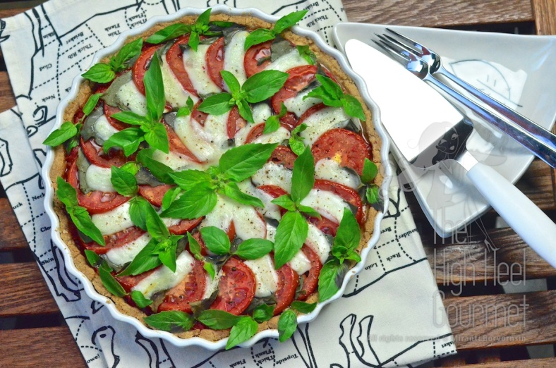 Caprese Tart by The High Heel Gourmet 25