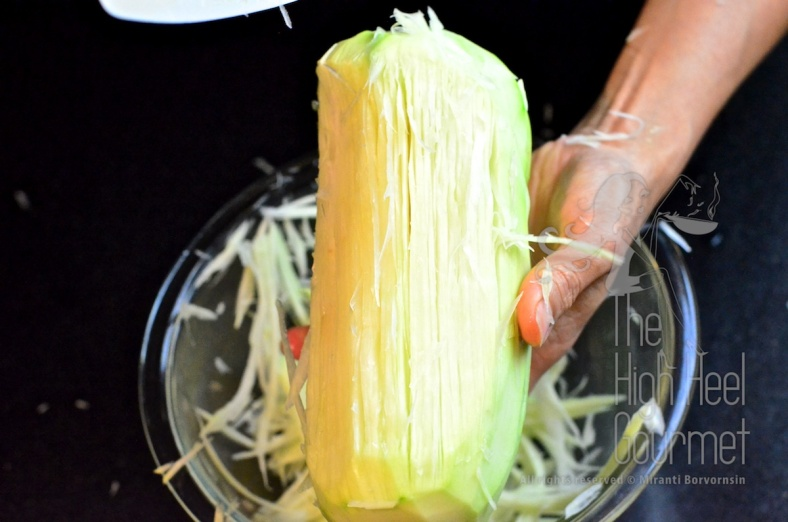 Thai Som Tam - Spicy Green Papaya Salad by The High Heel Gourmet 14