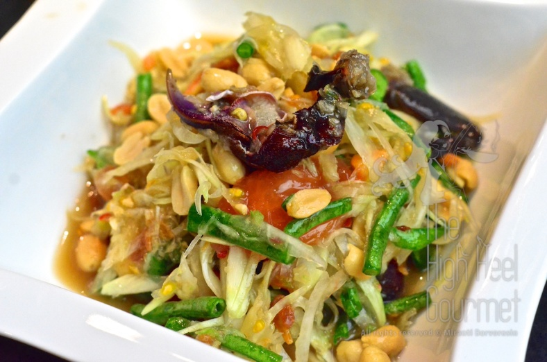 Thai Som Tam - Spicy Green Papaya Salad by The High Heel Gourmet 20