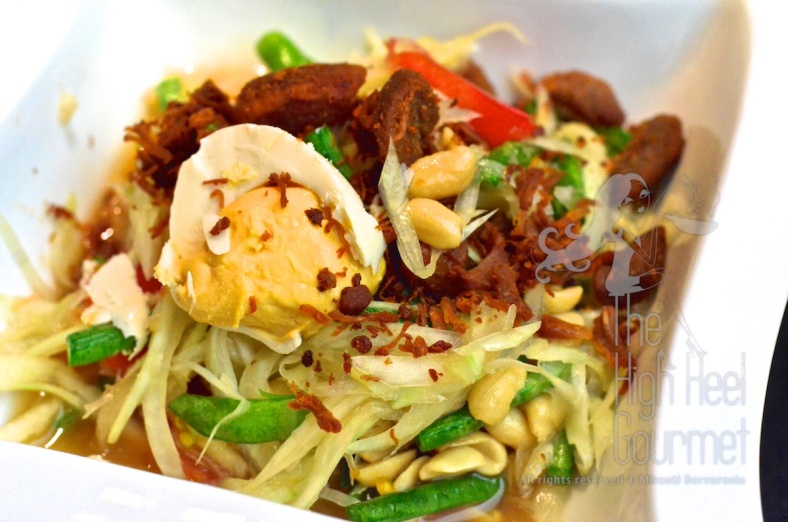 Thai Som Tam - Spicy Green Papaya Salad by The High Heel Gourmet 21