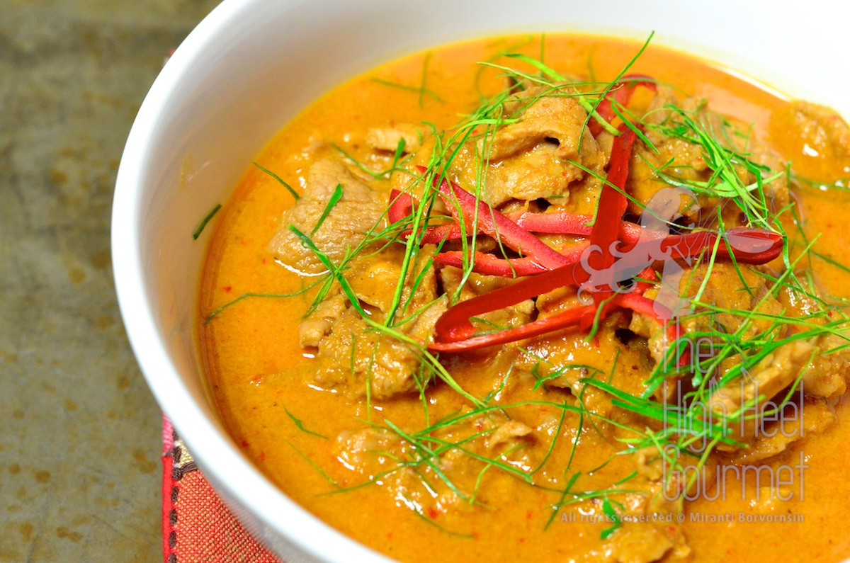 chicken curry panang curry with chicken panang curry with beef from a ...