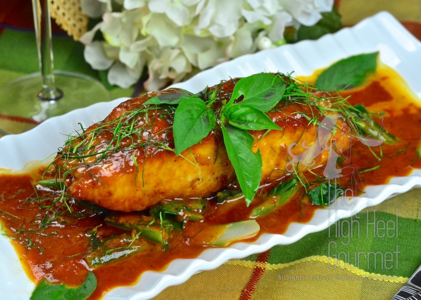 Thai Seafood Curry, Choo Chee by The High Heel Gourmet 2