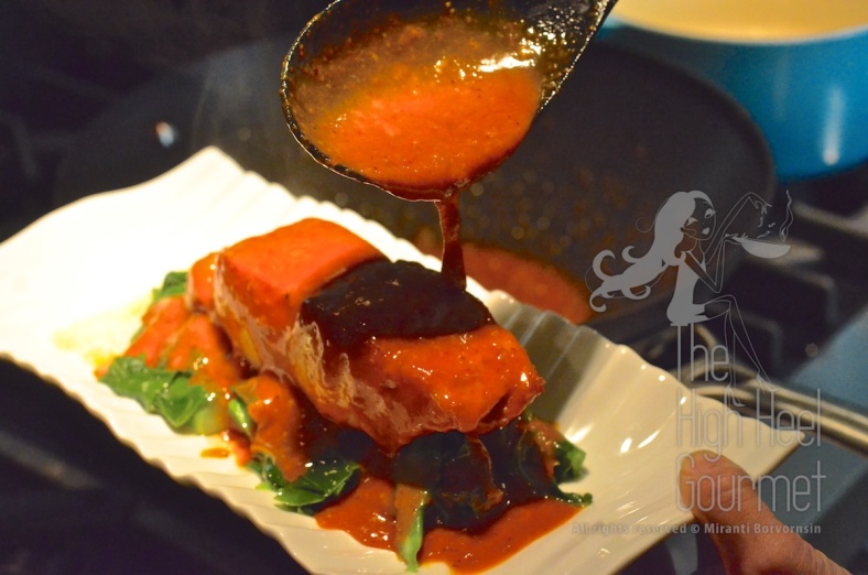 Thai Seafood Curry, Choo Chee by The High Heel Gourmet 5