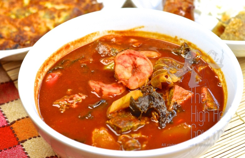 Thai Sour Curry - Kaeng Som by The High Heel Gourmet 8