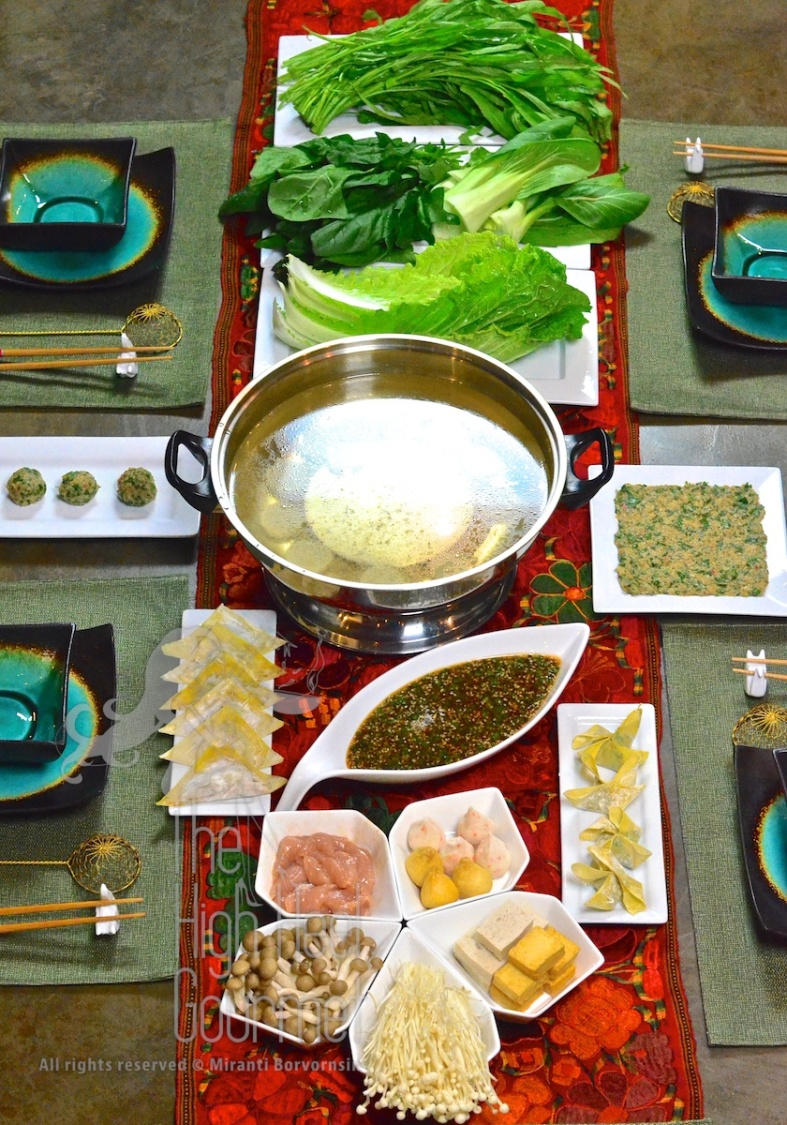 Hot Pot Thai Style - Suki MK by The High Heel Gourmet 8