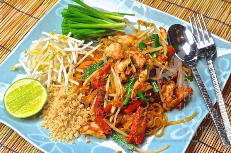 Easy Crab Pad Thai - Sen Chan Pad Pu by The High Heel Gourmet 11