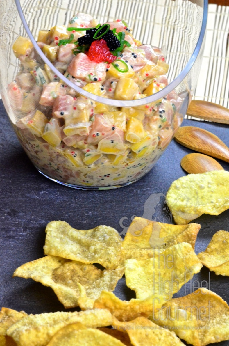 Salmon Tartare by The High Heel Gourmet 5