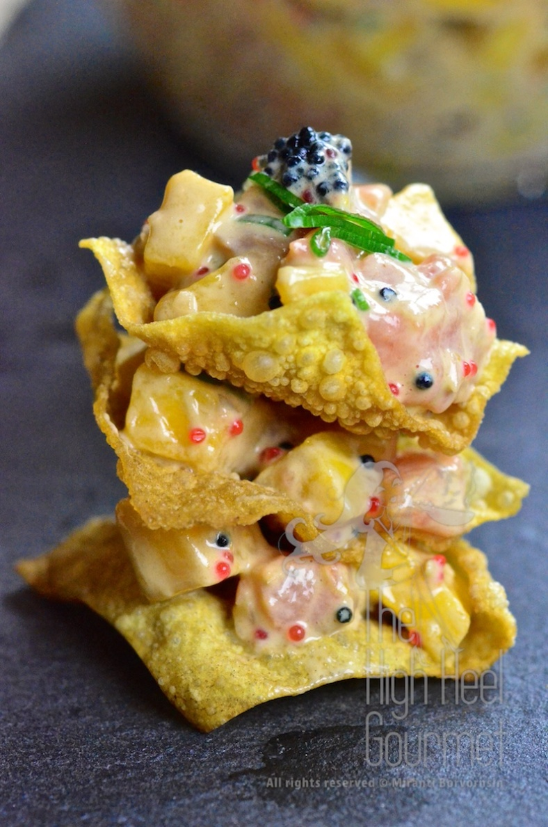 Salmon Tartare by The High Heel Gourmet 7