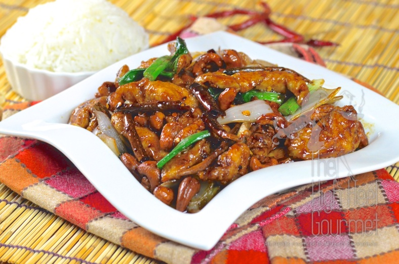 Thai Chicken with cashew nuts, Gai Pad Med Ma Muang 16