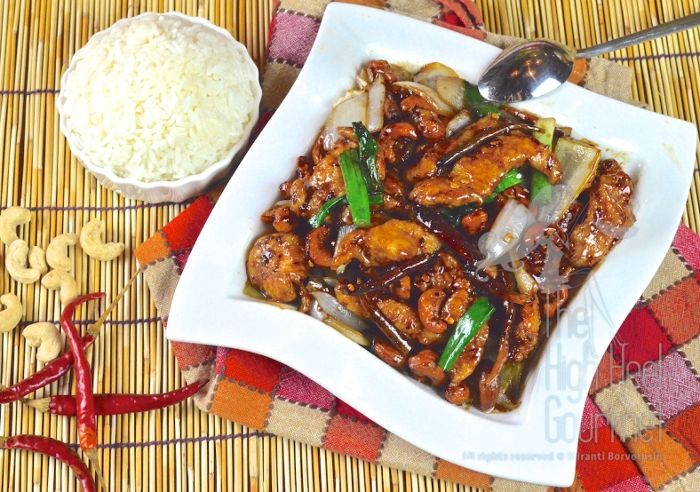 Thai Chicken with cashew nuts, Gai Pad Med Ma Muang 18