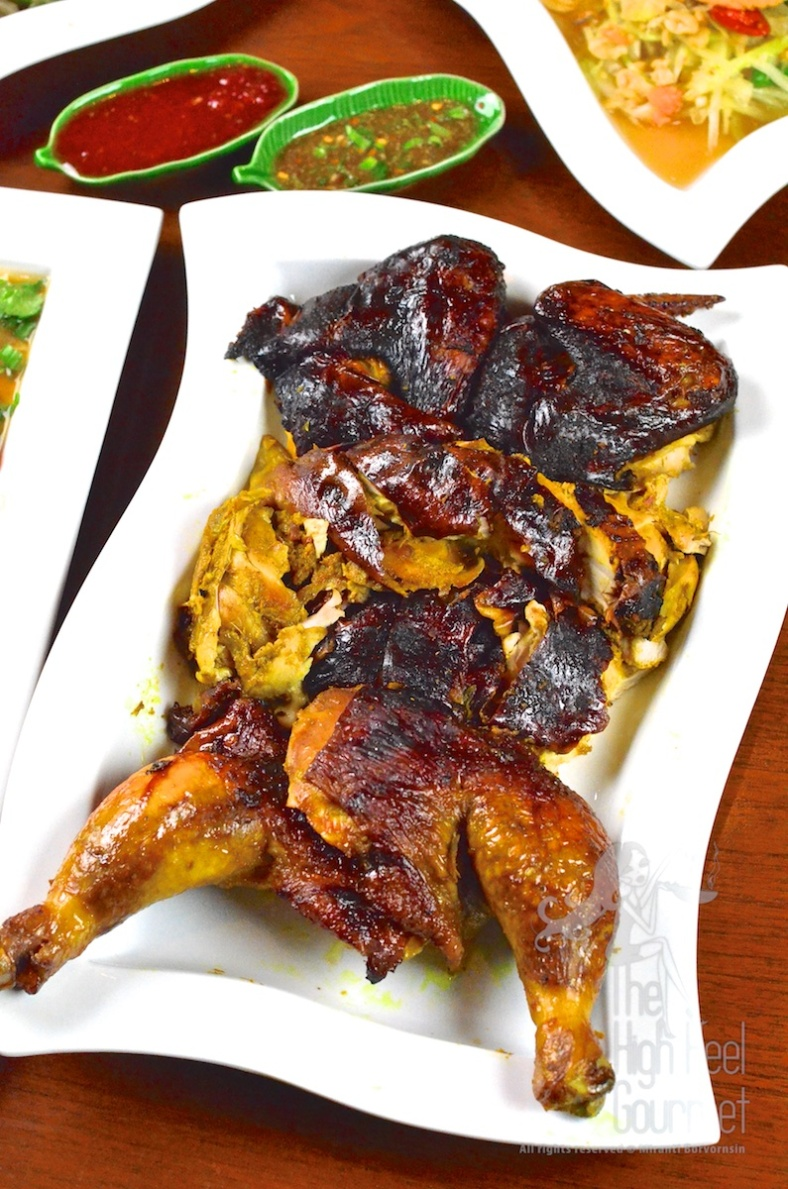 Thai Barbecue Chicken - Gai Yang by The High Heel Gourmet 5