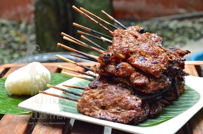 Thai Grilled Pork on the Skewers - Moo Ping by The High Heel Gourmet 12