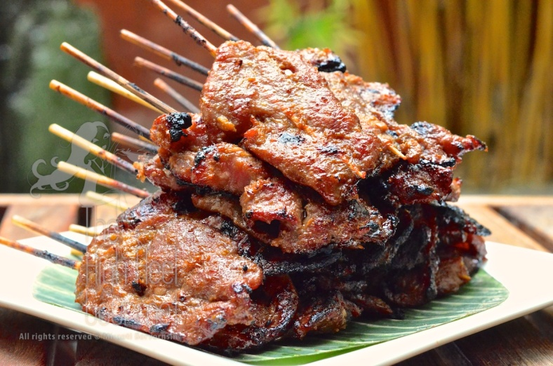 Thai Grilled Pork on the Skewers - Moo Ping by The High Heel Gourmet 14