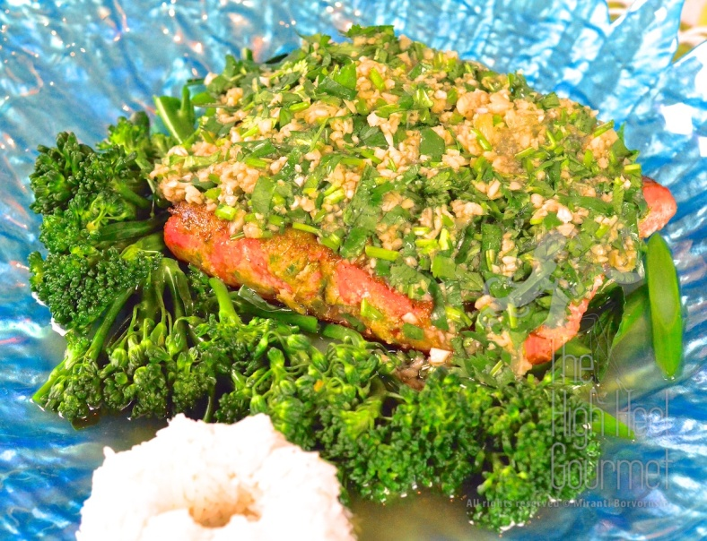 Thai Style Salmon with Garlic Chilies and Lime by The High Heel Gourmet 4